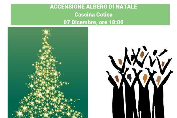 Accensione dell'Albero di Natale in Cascina