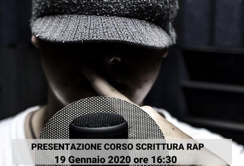 Presentazione corso Scrittura Rap