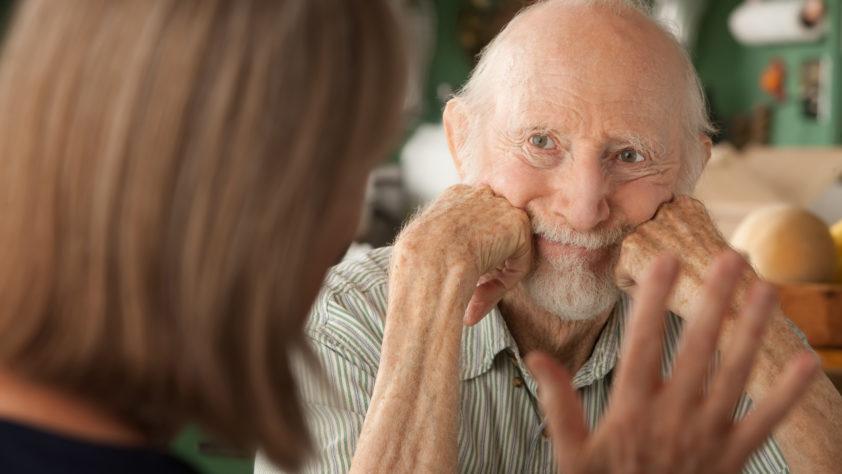 Genitori anziani fragili e Alzheimer.