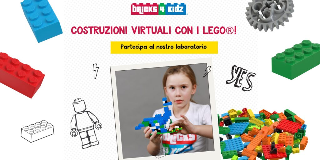 Lego® virtual Lab – Pazzi per i dinosauri